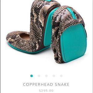 Tieks | Copperhead Snake | Size 9
